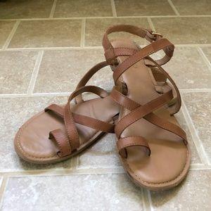 Franco Sarto strappy flat sandals